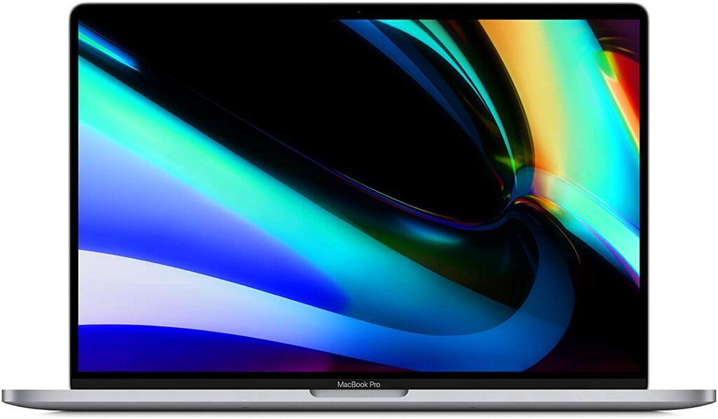 Apple Macbook Pro (16-inches) Top Performing Laptops of 2020