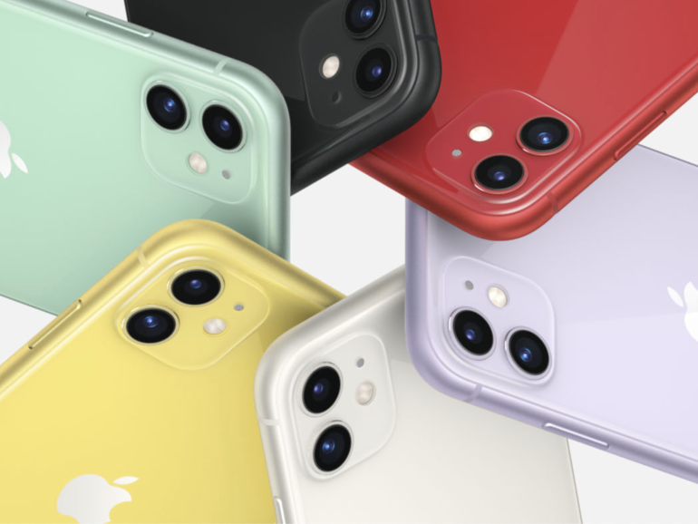 iPhone 11 color choice